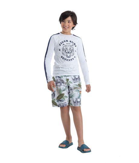 Pantaloneta-de-playa-Ropa-nino-Blanco