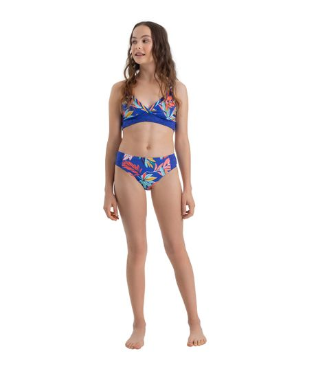 Vestido-de-baño-bikini-Ropa-nina-Azul