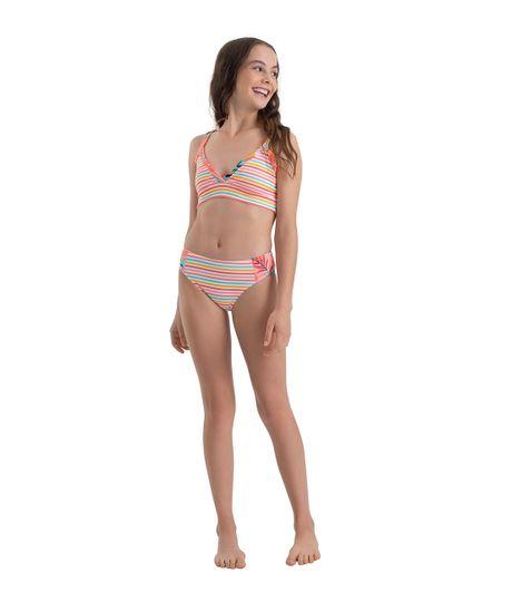 Vestido-de-baño-bikini-Ropa-nina-Rosado