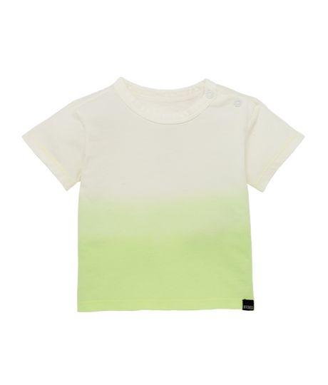 Camiseta-manga-corta-Ropa-recien-nacido-nino-Verde