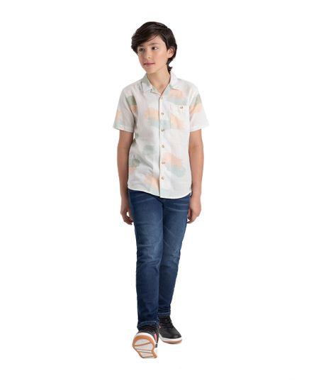 Camisa-manga-corta-Ropa-nino-Cafe