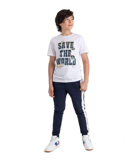 Pantalon-de-sudadera-Ropa-nino-Azul
