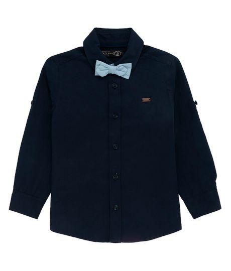Camisa-manga-larga-Ropa-bebe-nino-Azul