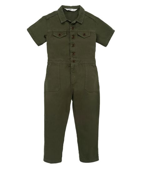 Overall-largo-Ropa-bebe-nino-Verde