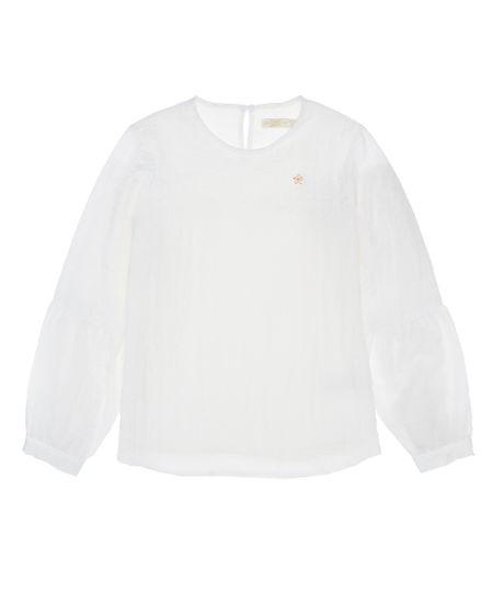 Camisa-manga-larga-Ropa-nina-Gris