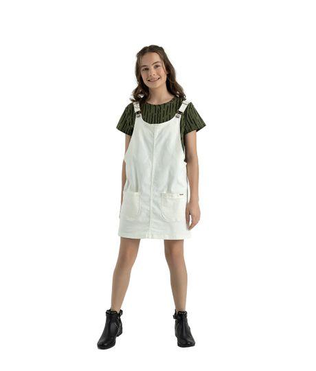 Camiseta-manga-corta-Ropa-nina-Verde