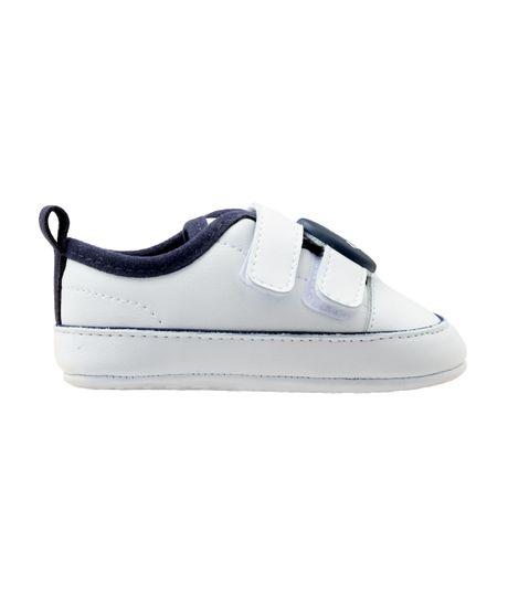 Zapatos-cosidos-Ropa-recien-nacido-nino-Blanco