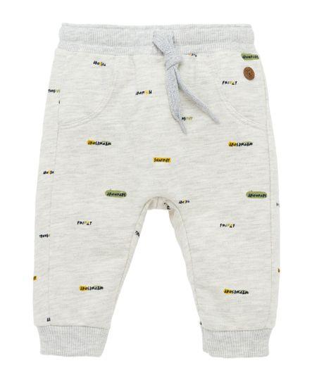 Pantalon-de-sudadera-Ropa-recien-nacido-nino-Gris