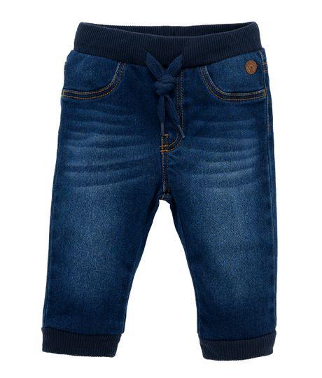 Pantalon-Ropa-recien-nacido-nino-Indigo-oscuro