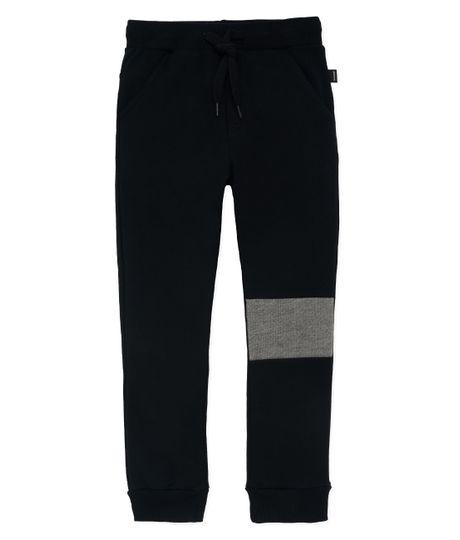 Pantalon-de-sudadera-Ropa-bebe-nino-Negro