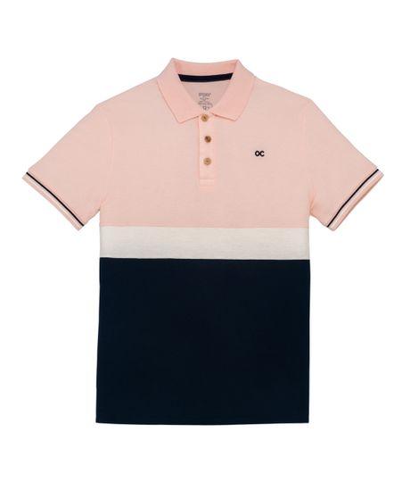 Camiseta-tipo-polo-Ropa-nino-Rosado