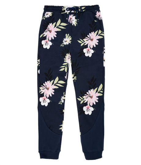 Pantalon-de-sudadera-Ropa-nina-Azul
