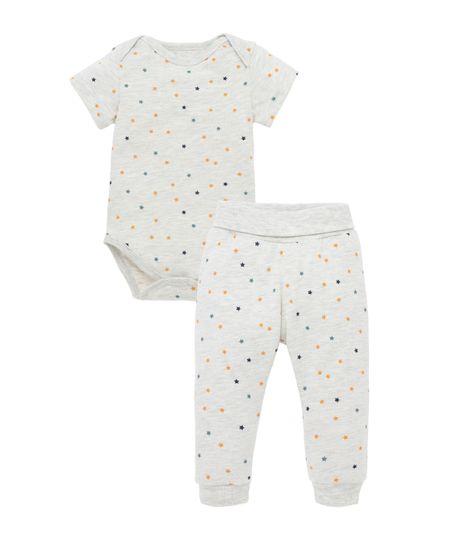 Pijama-Ropa-recien-nacido-nino-Gris