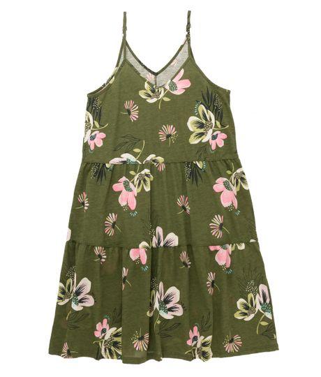 Vestido-manga-sisa-Ropa-nina-Verde