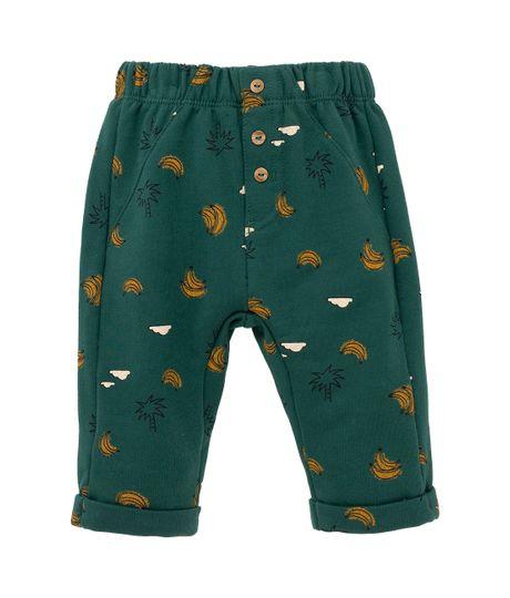 Pantalon-de-sudadera-Ropa-recien-nacido-nino-Verde