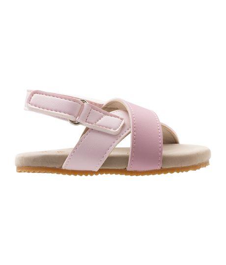 Zapatos-cosidos-Ropa-recien-nacido-nina-Rosado