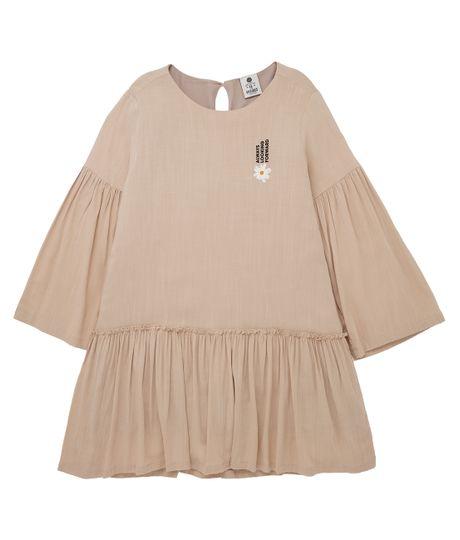 Vestido-manga-larga-Ropa-nina-Amarillo