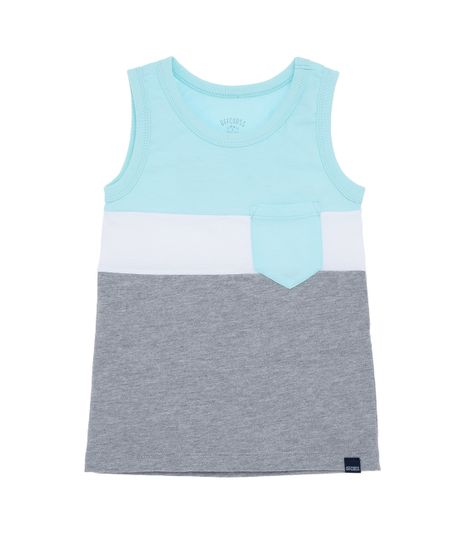 Camiseta-manga-sisa-outlet-Azul