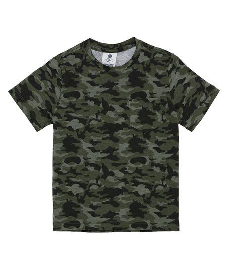 Camiseta-manga-corta-outlet-Verde