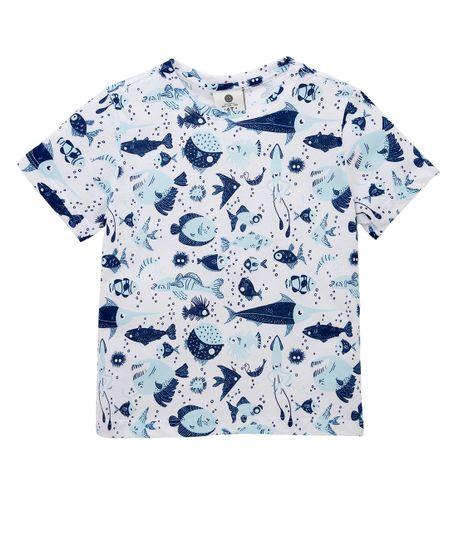 Camiseta-manga-corta-outlet-Blanco