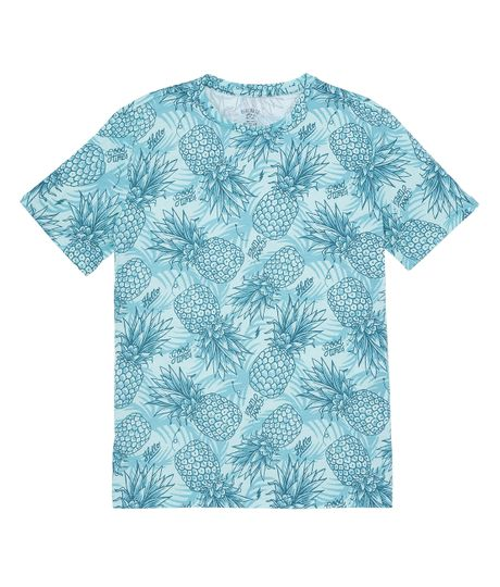 Camiseta-manga-corta-outlet-Azul