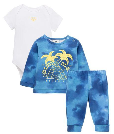 Conjunto-largo-Ropa-recien-nacido-nino-Azul