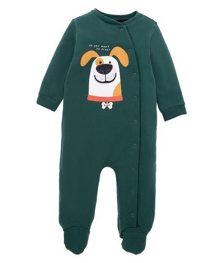 Pijama-enterizo-Ropa-recien-nacido-nino-Verde