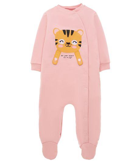 Pijama-enterizo-Ropa-recien-nacido-nina-Rosado