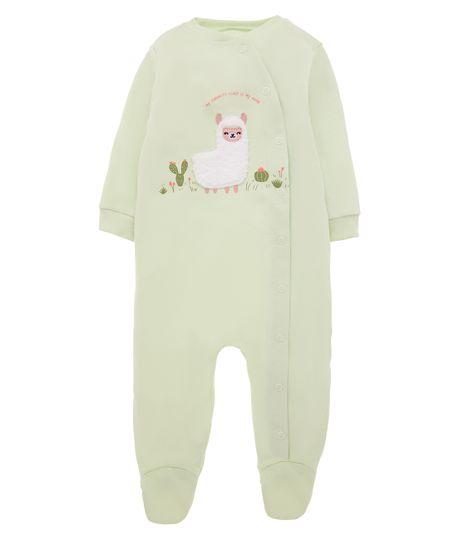 Pijama-enterizo-Ropa-recien-nacido-nina-Verde