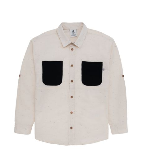 Camisa-manga-larga-Ropa-nino-Amarillo